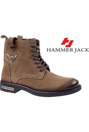 Hammer Jack Hakiki Deri Kadın Bot - Hmr 15200G Olive
