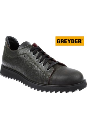 Greyder Hakiki Deri Erkek Ayakkabı - Gry 62342 Yeşil