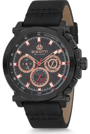 Bigotti Milano 8680161506959 Fonksiyonlu Erkek Kol Saati