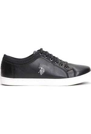 U.S. Polo Assn. Erkek K7Holmes Ayakkabı Siyah