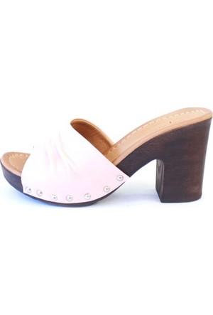 Shop And Shoes 010-8009 Kadın Ayakkabı Pudra