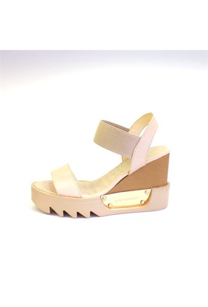 Shop And Shoes 015-656 Kadın Ayakkabı Bej