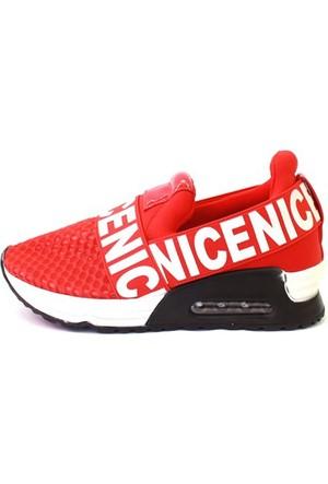 Shop And Shoes 015-Scr-15 Kadın Ayakkabı Kırmızı