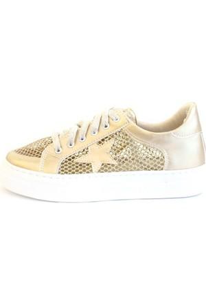 Shop And Shoes 031-103F Kadın Ayakkabı Altın