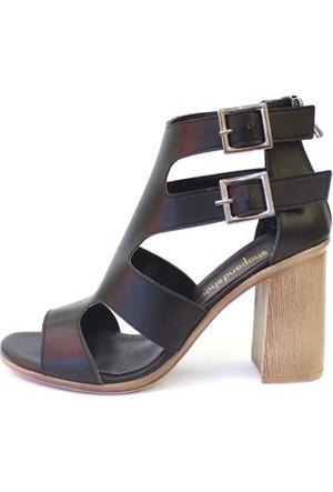 Shop And Shoes 031-1611 Kadın Ayakkabı Siyah