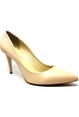 Shop And Shoes 041-8600 Kadın Ayakkabı Krem