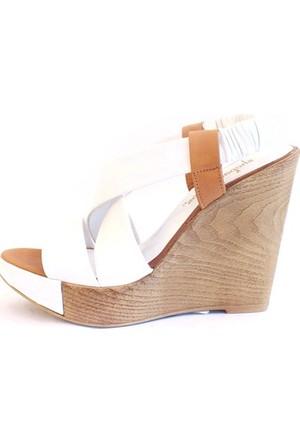 Shop And Shoes 062-170 Kadın Ayakkabı Beyaz