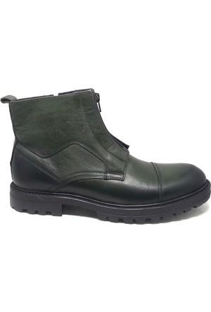 Shop And Shoes 093-5853 Erkek Bot Yeşil