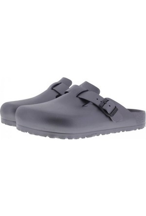 Birkenstock 105-1002763E Boston Eva Erkek Sandalet Metallic Anthracite