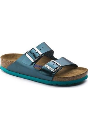 Birkenstock 105-1003481B Arizona Nl Kadın Sandalet Metallic Green
