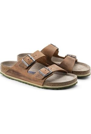 Birkenstock 105-1005186E Arizona Nl Erkek Sandalet Antik Braun