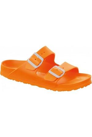 Birkenstock 105-129553B Arizona Eva Kadın Sandalet Neon Orange