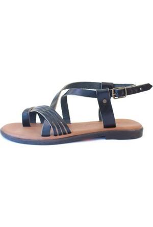 Shop And Shoes 155-102 Kadın Sandalet Siyah
