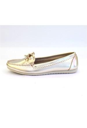 Shop And Shoes 155-2403 Kadın Ayakkabı Altın