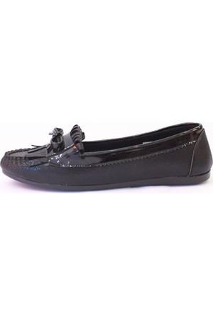 Shop And Shoes 155-786 Kadın Babet Siyah
