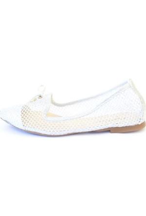 Shop And Shoes 166-700 Kadın Ayakkabı Gümüş