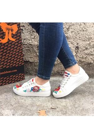 Shop And Shoes 172-10 Kadın Ayakkabı Beyaz