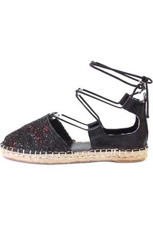 Shop And Shoes 172-1403 Kadın Ayakkabı Siyah Camkırığı