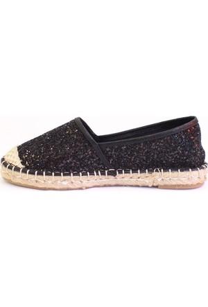 Shop And Shoes 172-2403 Kadın Ayakkabı Siyah Camkırığı