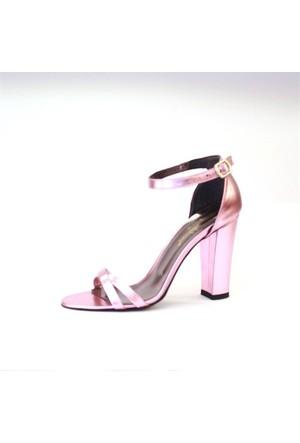 Shop And Shoes 173-021530-1 Kadın Ayakkabı Fuşya Ayna