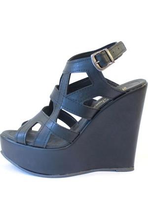 Shop And Shoes 173-17140 Kadın Ayakkabı Siyah
