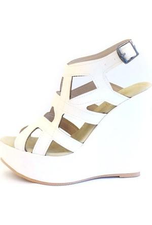 Shop And Shoes 173-17140 Kadın Ayakkabı Beyaz