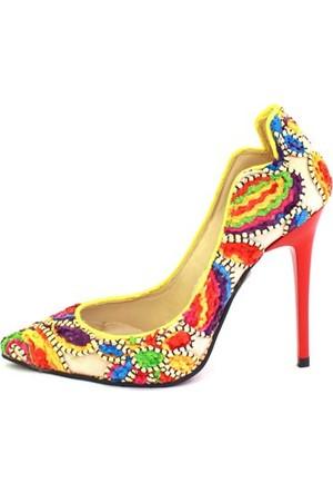 Shop And Shoes 174-703 Kadın Ayakkabı Etnik