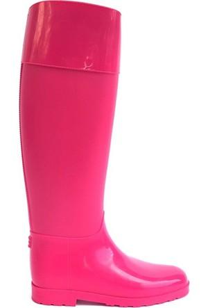 Shop And Shoes 175-503 Kadın Çizme Fuşya