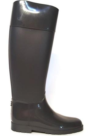 Shop And Shoes 175-503 Kadın Çizme Gri