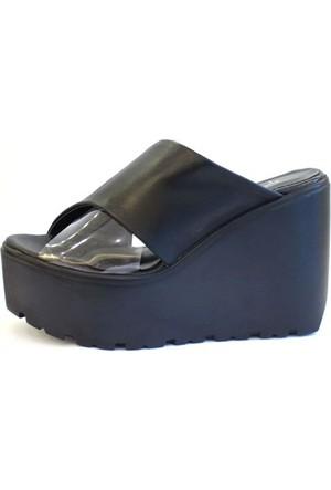 Shop And Shoes 184-102 Kadın Terlik Siyah