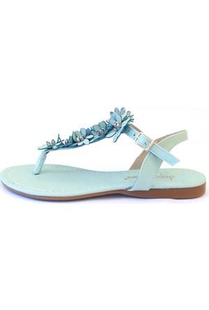 Shop And Shoes 190-081 Kadın Ayakkabı Su Yeşili