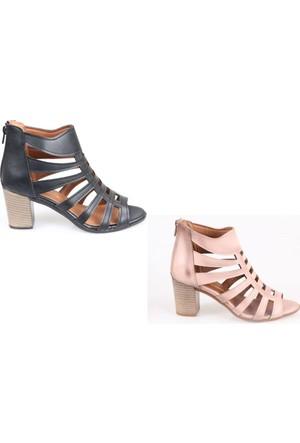Nelmoda Bayan Fantazi Yazlık Ayakkabı