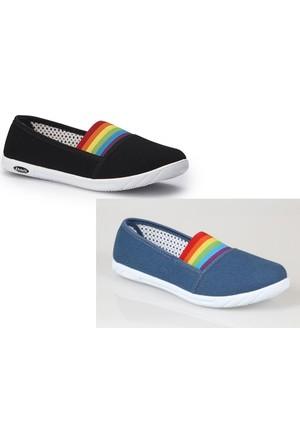 Polaris Bayan Keten Saneaker Ayakkabı