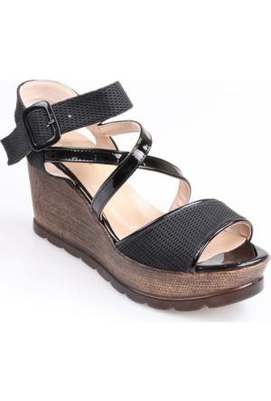 Romina Bayan Dolgu Taban Sandalet