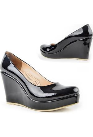Kaplan 221 Zn Rugan Dolgu Topuk Bayan Ayakkabı