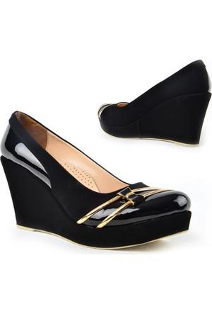 Kaplan 223 Zn Süet Dolgu Topuk Bayan Ayakkabı
