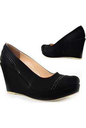 Kaplan 224 Zn Süet Dolgu Topuk Bayan Ayakkabı