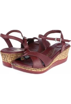 Asena Kadın Dolgu Topuklu Sandalet