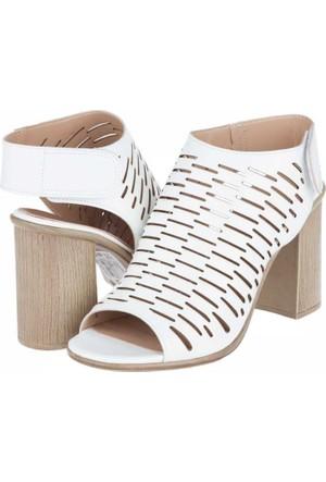 Yarım Elma Kadın Topuklu Sandalet