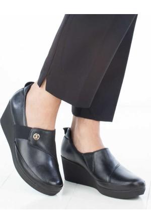 Scavia Kadın Dolgu Topuklu Ayakkabı