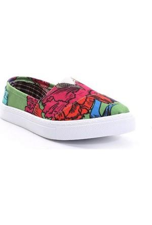 I'm Limited Edition Kadın Keten Ayakkabı 580-1740-0251Ww11