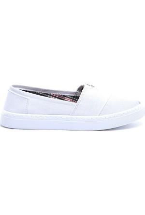 19V69 Italia Kadın Keten Ayakkabı 7Vxw169005090