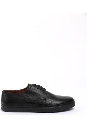 19V69 Italia Erkek Deri Ayakkabı 7Vok60354-05Bh09