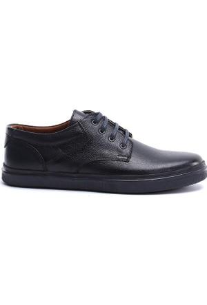 19V69 Italia Erkek Hakiki Deri Ayakkabı 7Vok60365-05Bt11