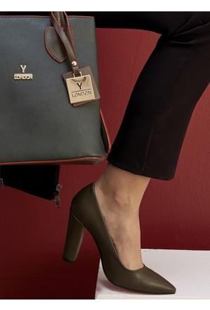 Y-London Kadın Stiletto Ayakkabı 569-8-1111-025B957