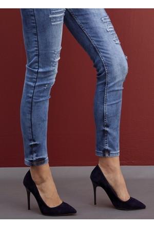 Y-London Kadın Stiletto Ayakkabı 569-8-1111-015074