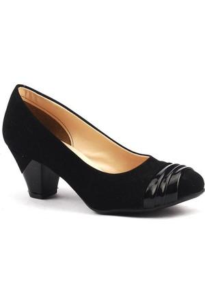 Ayakland 087 Günlük Bayan Süet Babet Ayakkabı