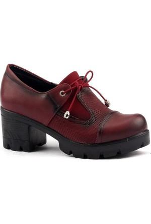 Ayakland 979 Günlük Bayan Bağcıklı Ayakkabı