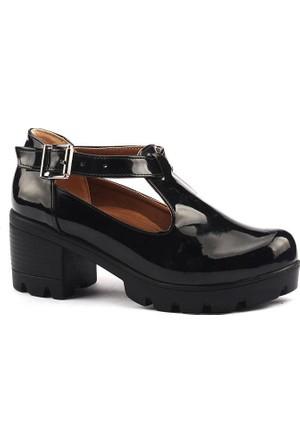 Classy 971 Günlük Bayan Rugan Ayakkabı
