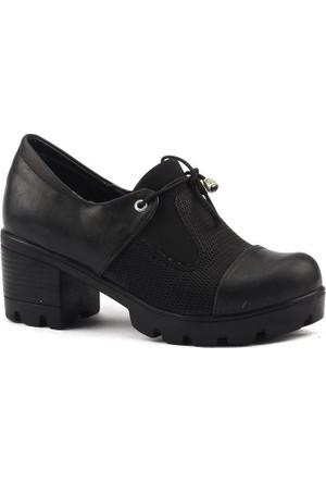 Classy 979 Günlük Bayan Bağcıklı Ayakkabı